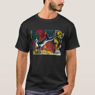 cats by franz marc T-Shirt