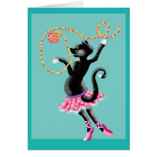 cats can dance card