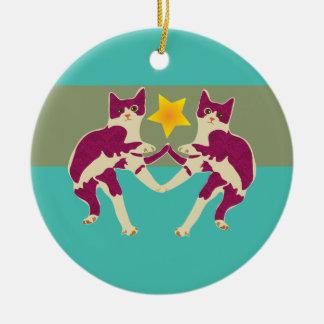 Cats Ornament