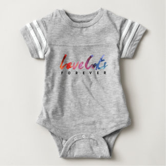 CATS DOGS FOREVER BABY BODYSUIT