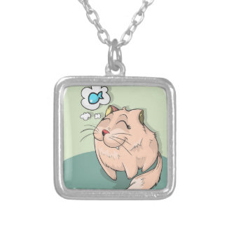 Cats Dream Silver Plated Necklace