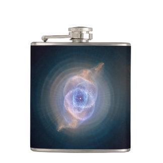 Cats eye nebula hip flask