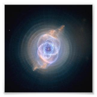 Cat's Eye Nebula Hubble NASA Photograph