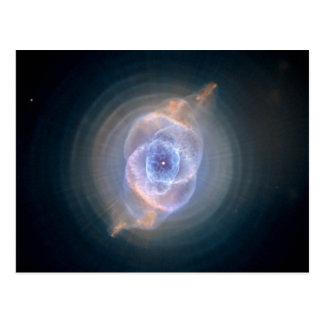 Cat's Eye Nebula Hubble NASA Postcard
