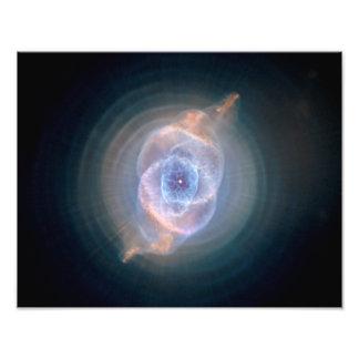 Cat's Eye Nebula, NGC 6543 Art Photo