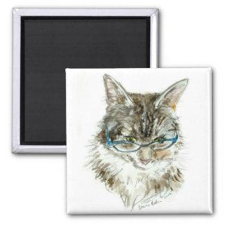 Cat's Eye Reading Glasses CAT Magnet