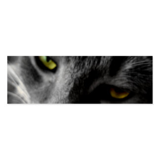 Cat's Eyes Profile Cards Pack Of Skinny Business Cards