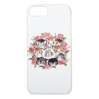 Cats Family, iPhone 7, case