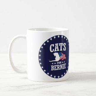 CATS FOR BERNIE SANDERS COFFEE MUG