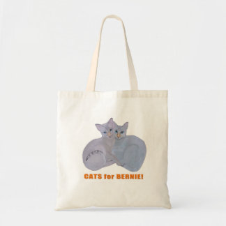 Cats for Bernie! Tote Bag