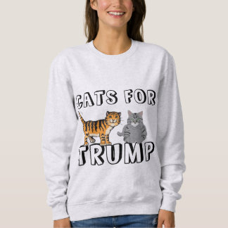 Cats for Donald Trump Funny T-shirts