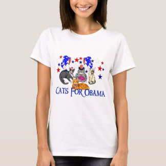 CATS FOR OBAMA T-Shirt