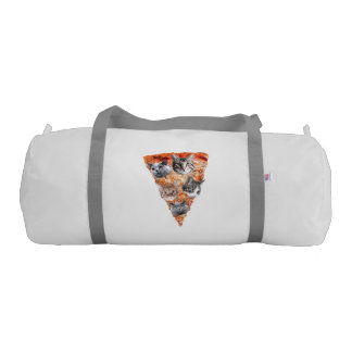 Cats For the Pizza-Lover Gym Duffel Bag