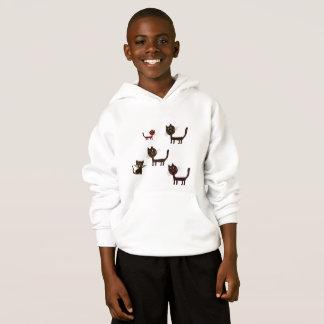 Cats Fun Kids' Hanes ComfortBlend® Hoodie