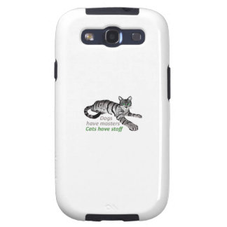 CATS HAVE STAFF SAMSUNG GALAXY S3 COVERS