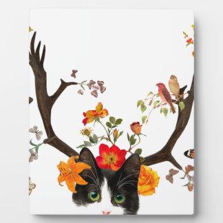Cat's Horns Plaque
