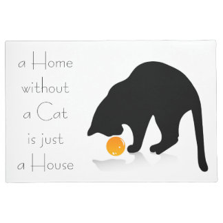 Cats House Doormat