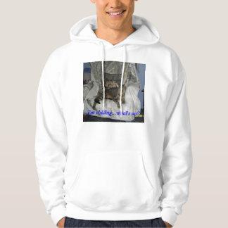 cats, humor hoodie
