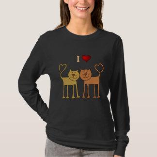 Cats: I Love Cats t-shirt