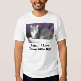 Cats.... I Love Theese Little Guys T-shirt