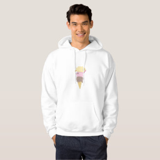 Cats Ice Cream Funny Cat lovers Hoodie