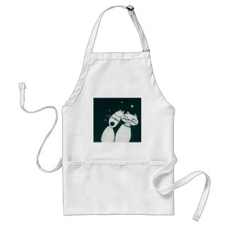 Cats in love apron
