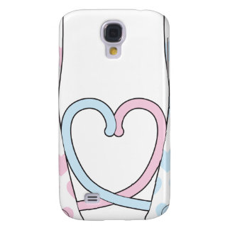 Cats in Love Galaxy S4 Cases