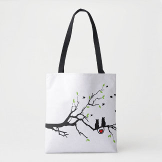 Cats in Love Tote Bag