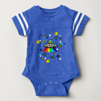 Cats invaders baby bodysuit