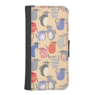 Cats iPhone SE/5/5s Wallet Case