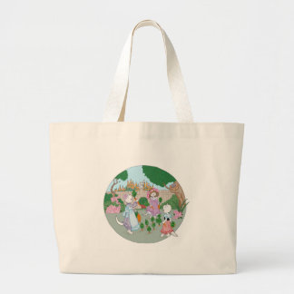 Cats Kittens and Carrots Canvas Bags