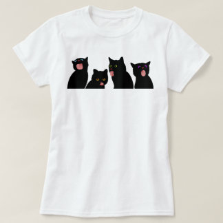 Cats Licking Windows Crazy Cat Lady! T-Shirt
