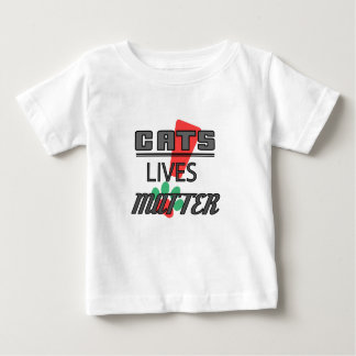 CATS LIVES MATTER! Baby Fine Jersey T-shirt