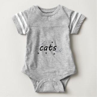 Cats love baby bodysuit