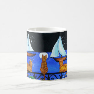 Cats Magical Night Nite Magic Coffee Mug