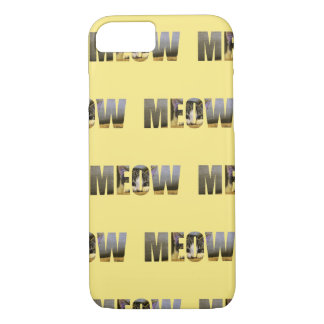 Cat's MEOW iPhone 7 Case