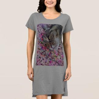 Cats Meow T-shirt dress