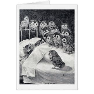 Cats Nightmare, Louis Wain Card