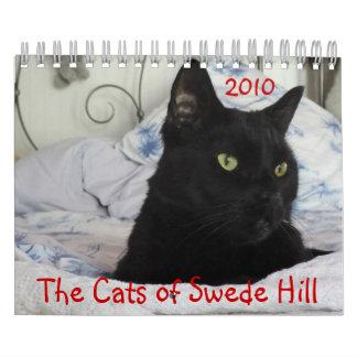 Cats of Swede Hill 2010 Calendar