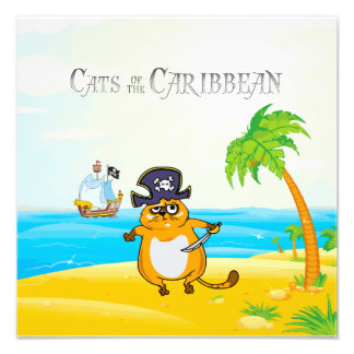 Cats of the Caribbean Photo Print
