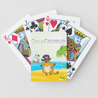 Cats of the Caribbean Poker Deck