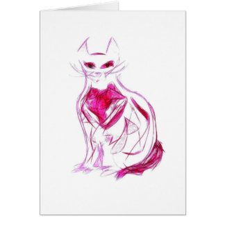 Cats of the World Notecard #1