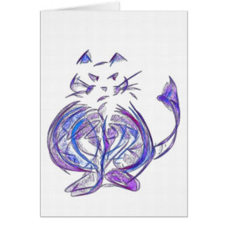 Cats of the World Notecard #5