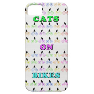 Cats on Bikes iPhone 5 Covers