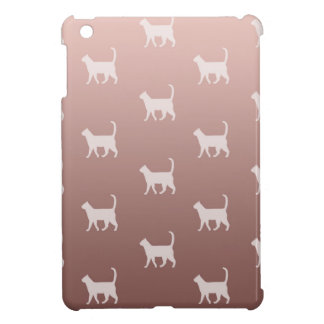 Cats on Rose Gold iPad Mini Case