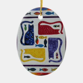 Cats Christmas Ornament