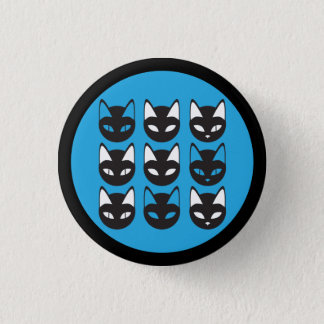 Cats Pattern button