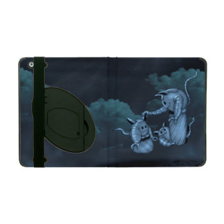 CATS ROBOTS ALIEN Powis iCase iPad 2/3/4 Kickstand Covers For iPad