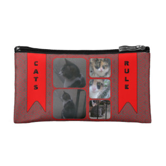 Cats Rule Cosmetic Bags