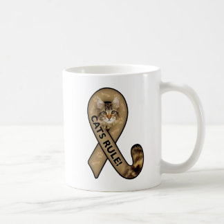 Cats Rule Design Coffee Mug